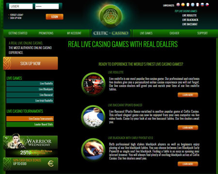 Real Live Casino From Real Dealers